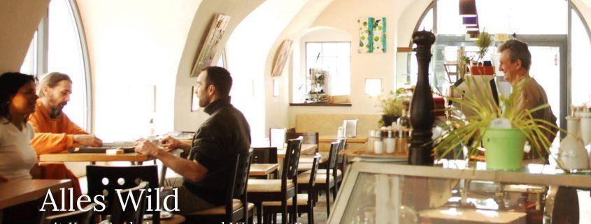 Kurt Fuchsberger in seinem Cafe und Wein Langenlois